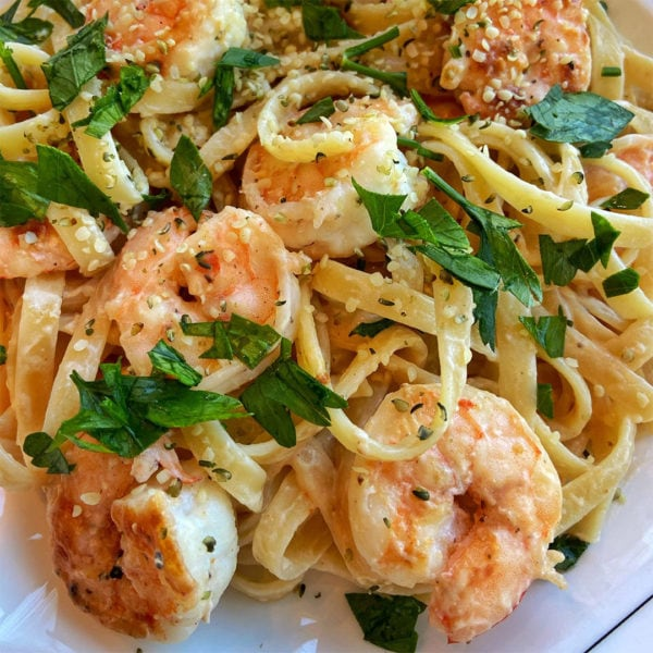 Blue Circle Foods Shrimp Alfredo Recipe