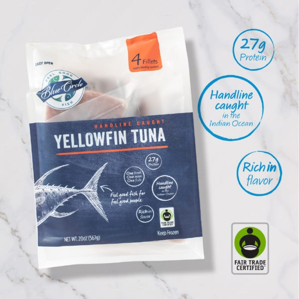 Yellowfin Tuna Packaging