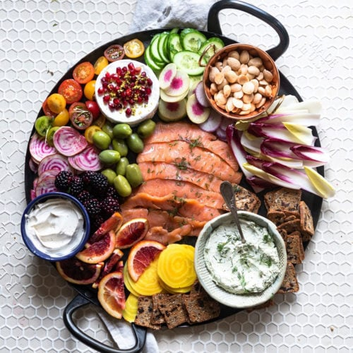 Blue Circle Foods Smoked Salmon Party Platter