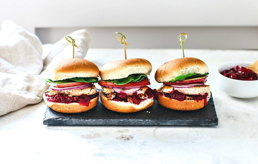 Blue Circle Foods Sweet And Savory Happy Fish Sliders With Cranberry Sauce