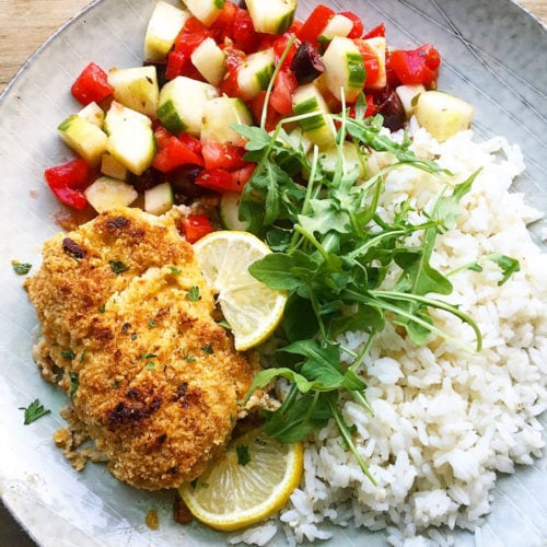 blue circle foods almond crusted baked cod recipe