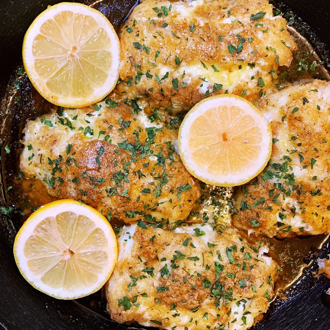 Baked Panko Crusted Cod Blue Circle Foods